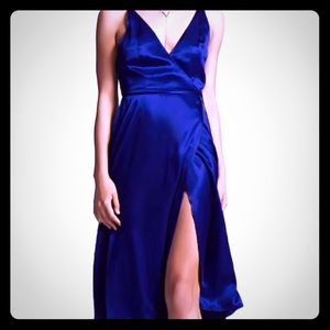 Forever 21 Midnight Blue Dress